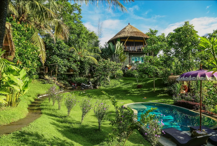 2015: Balian Treehouse, Bali, Indonesia