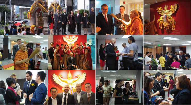 Highlights from the new office opening in Bangkok