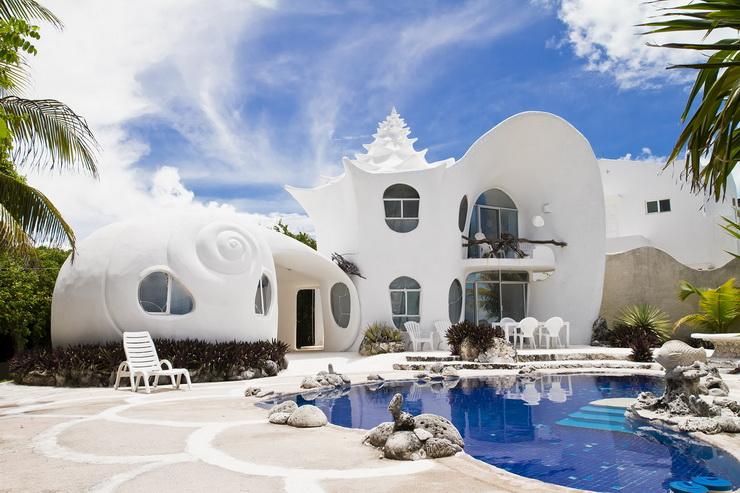 2013: The World Famous Seashell House, Isla Mujeres, Mexico