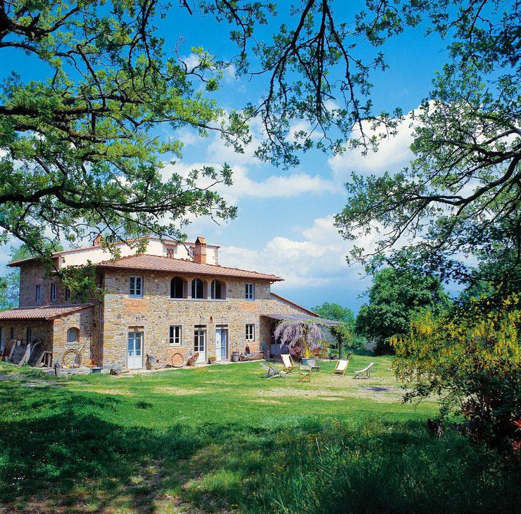 2011: Villa Near Florence, Tuscany, Italy