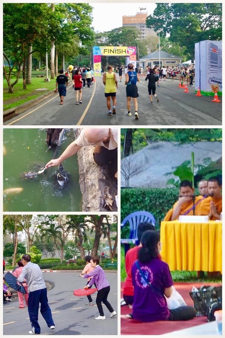 Bangkok's famous Lumphini Park
