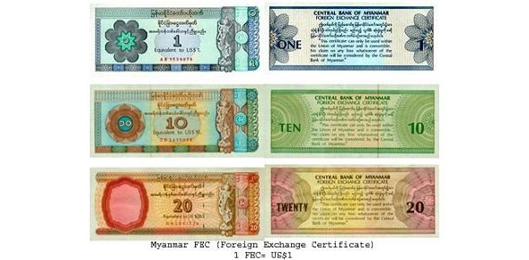 Symbol Of A Ly State Controlled Currency Exchange Market Fec In Myanmar Are Due To Disear By March 2017 When Further Liberalisation The Money