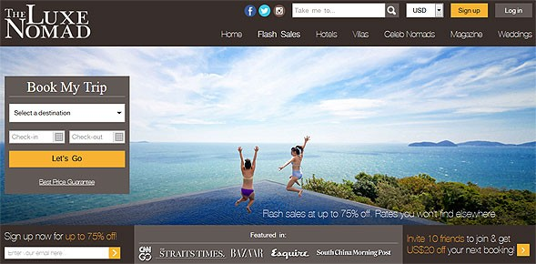 SiteMinder partners with The Luxe Nomad to strengthen