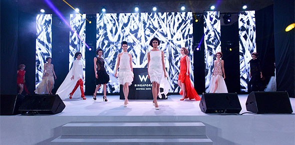 W Singapore - Sentosa Cove electrified The Audi Fashion Festival