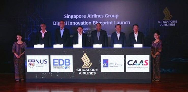 Singapore airline forges ahead with digital innovation blueprint bilateral partnerships with astar caas edb and nus to establish sia as a digital aviation and travel experience leader digital innovation blueprint to malvernweather Choice Image