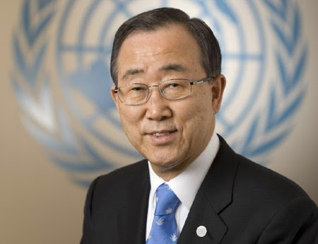 former Secretary General of the United Nations, H.E. Mr. Ban Ki-moon.
