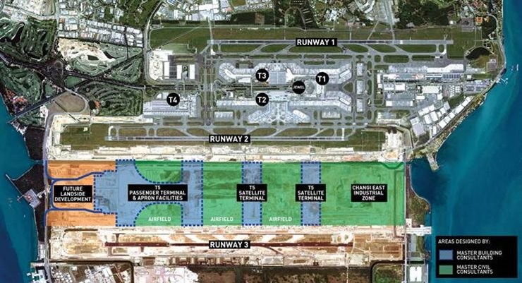 Changi East and Terminal 5 Development Site