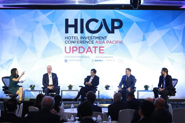 "Olivier Berrivin, Best Western's Managing Director of International Operations – Asia (pictured second from left), takes part in a panel discussion entitled ""The Industry Leaders Speak Out"" at HICAP UPDATE 2018."