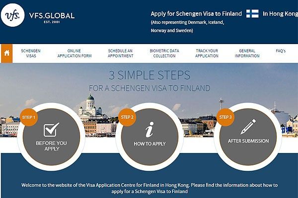 VFS Global expands Finland Visa Services Network to Hong Kong