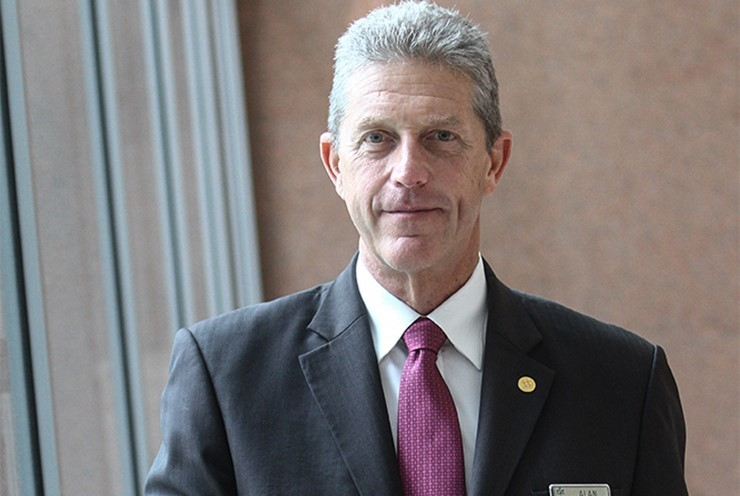 Alan Pryor, General Manager of Kuala Lumpur Convention Centre