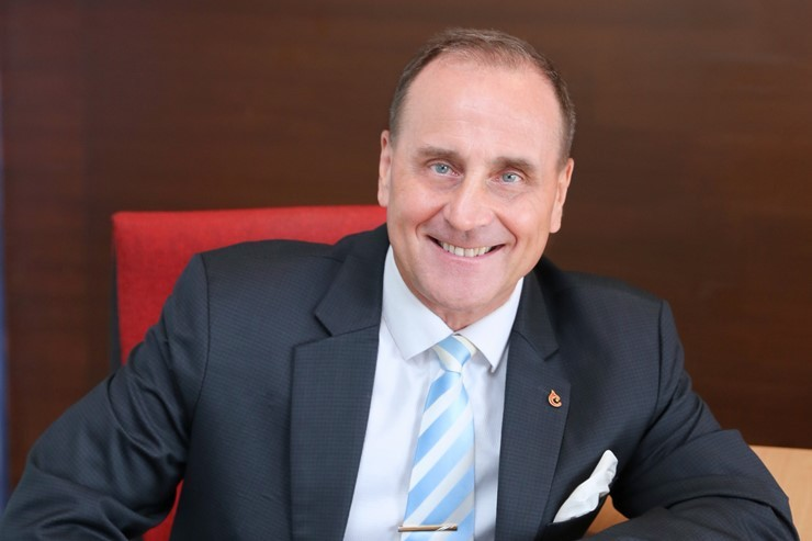 Andrew Langston, Senior Vice President Business Development, Centara Hotels & Resorts