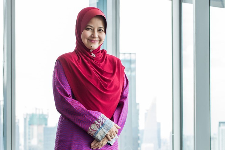 Chief Executive Officer, Ms Sherene Azli