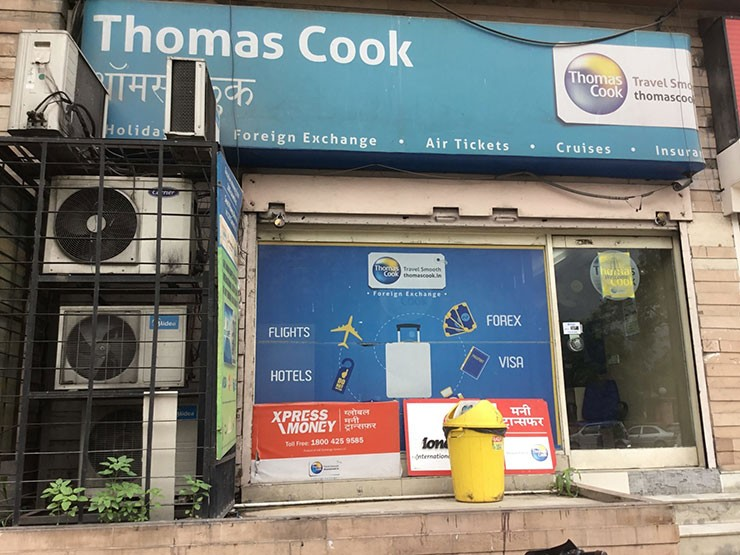 One of the Thomas Cook's retail shops in Jaipur