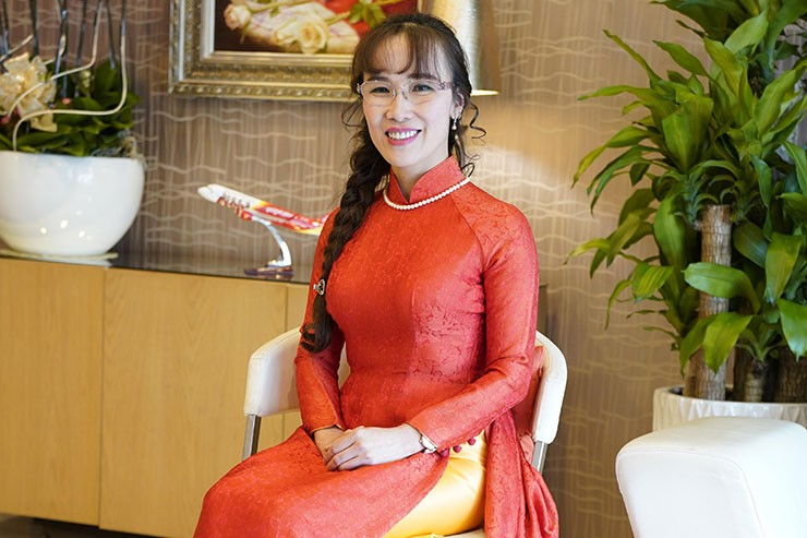 Vietjet President and Ceo Nguyen Thi Phuong Thao