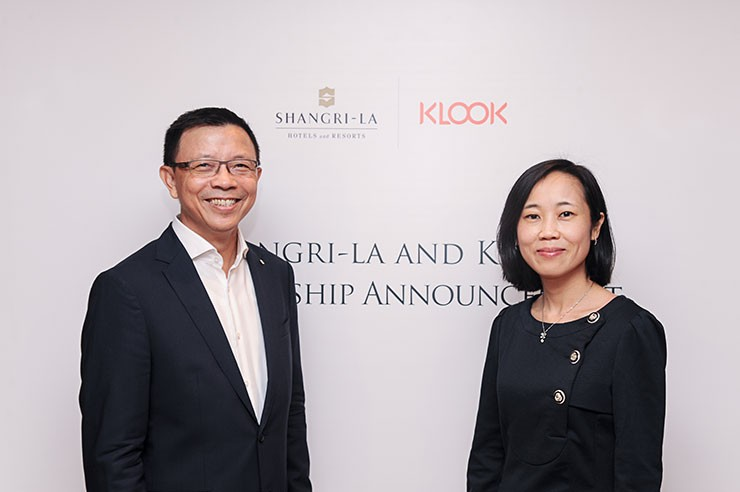 Wee Kee Ng from Shangri-La & Anita Ngai from Klook
