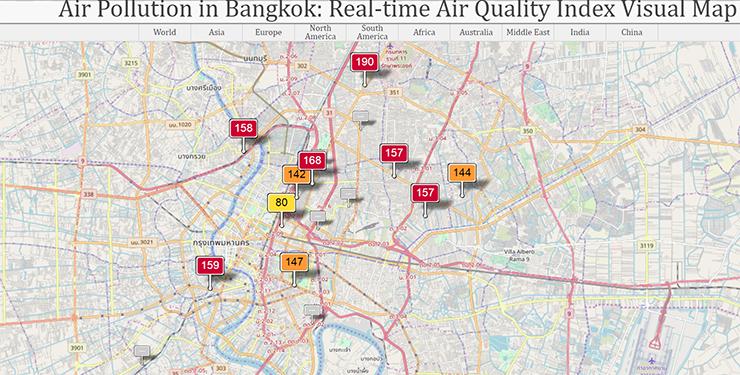 TAT issues travel advisory on Bangkok\'s air pollution ...