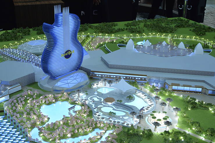 Rendering of Hard Rock Japan's World-Class Entertainment Resort