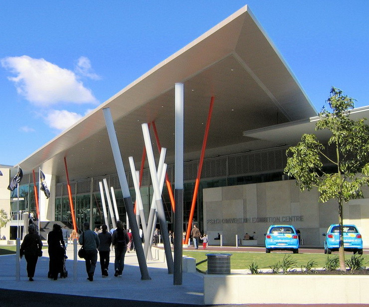 Perth Convention Exhibition Centre, Western Australia - Credits:  Greg O'Beirne