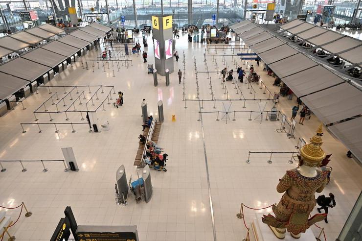 Suvarnabhumi Airport - Photo by Mladen ANTONOV / AFP