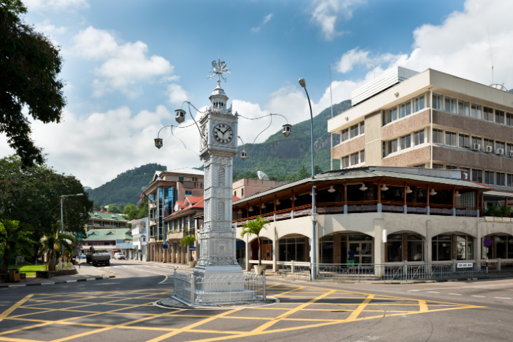 Victoria Capital of Seychelles