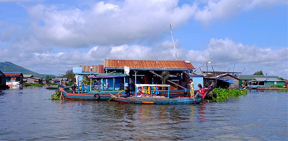 Heritage Line's luxury Jahan River cruise from Siem Reap to Ho Chi Minh City