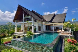 A majestic 3-bedroom villa perfect for a family getaway in Bali, Indonesia, one of the top travel destinations in 2017.
