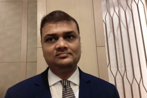 Mr. Shreyash Shah, Cluster Director of Sales of MYTT Beach Hotel in Pattaya, Thailand