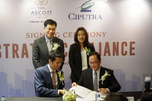 Ascott and Ciputra inks strategic alliance