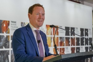 Stephen England-Hall, Tourism New Zealand Chief Executive
