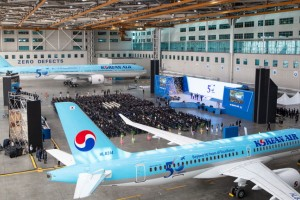 On 4 March, Korean Air held a special ceremony to celebrate its 50th anniversary at its headquarters in Seoul, Korea.