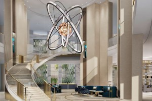Grand Hyatt Al Khobar Lobby (Photo: Business Wire)