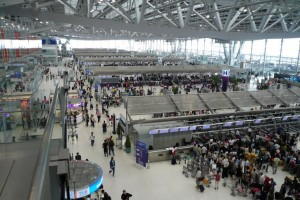 Suvarnabhumi International Airport of Bangkok
