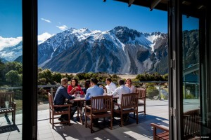 Business event at Aoraki Mt Cook