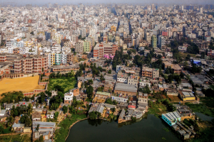 Dhaka, the capital of Bangladesh