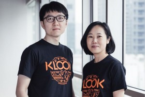 Klook's Chief Product Officer, David Liu, on the left and Chief Revenue Officer, Anita Ngai, on the right