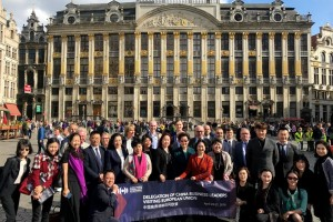 The Delegation of China Business Leaders Visiting European Union led by Ms. Pansy Ho, Secretary-General and Vice Chairman of the Global Tourism Economy Forum, completed an 8-day 3-country multiple-city mission in the European Union, the Partner Region of GTEF 2018