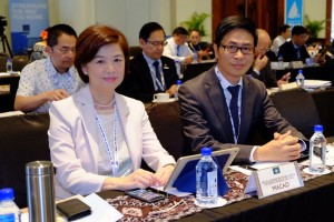 MGTO Deputy Director, Cheng Wai Tong, with MGTO Head of Communication and External Relations Department, Kathy Iong, in Fiji to attend UNWTO Asia Pacific region annual meeting and related events