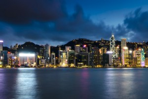 Hong Kong harbour, Courtesy of Jaafar Alnasser