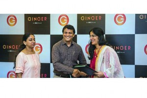 From left to right: Swati and Siddharth Revankar, Director Lotus Inn Pvt. Ltd. and Deepika Rao, MD & CEO, Ginger Hotels.