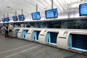 In-town Check-In and Luggage Check-In process at Taoyuan MRT Airport Line Station A1