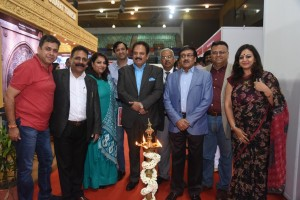 From Left to Right: Mr. Saurabh Tuteja, Member of ETAA, Mr Rajesh Arya, Vice President, ADTOI, Mrs Sangeeta Manocha, Director, ETAA, Mr. Sanjay Narula, Vice President, TAAI, P.P Khanna, President, ADTOI, Rohit Hangal, Director Sphere Travel Media