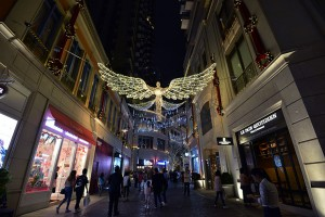 "London's renowned ""The Spirit of Christmas"" decoration landed in Lee Tung Avenue"
