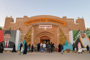 Indonesia Pavilion at 33rd Edition of Janadria Festival in Saudi Arabia (Photo: AETOSWire)