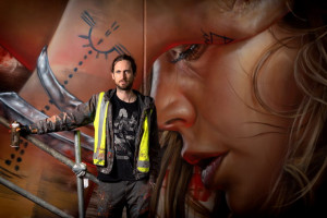 Matt Adnate at The Adnate