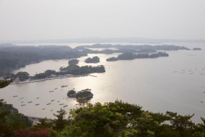 More than 260 small islands can be seen from above while paragliding over Matsushima Bay (Credit: JNTO)
