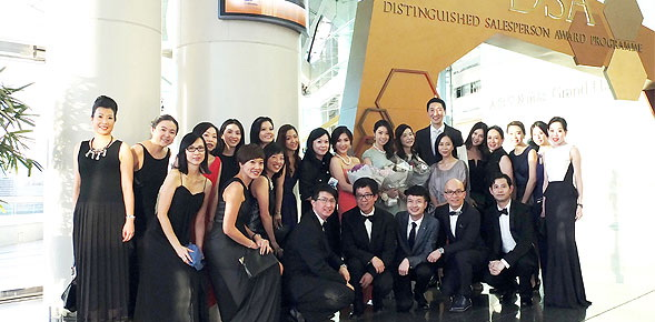 "Three AsiaWorld-Expo employees win ""47th Distinguished Salesperson ..."