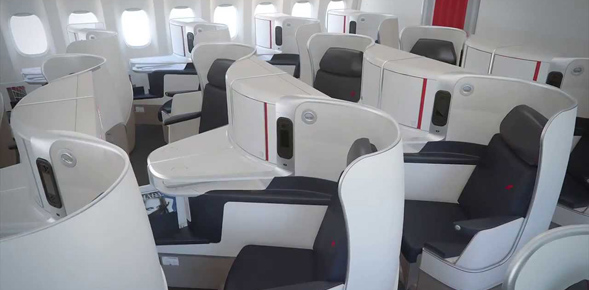 Business Class Angebote nach Kanada - Air France Business Class