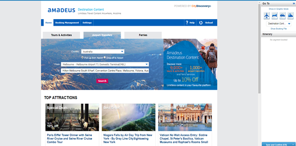 Αποτέλεσμα εικόνας για Amadeus launches new marketplace for destination content
