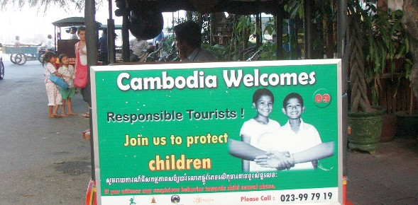 New initiative to fight child sex tourism in Cambodia