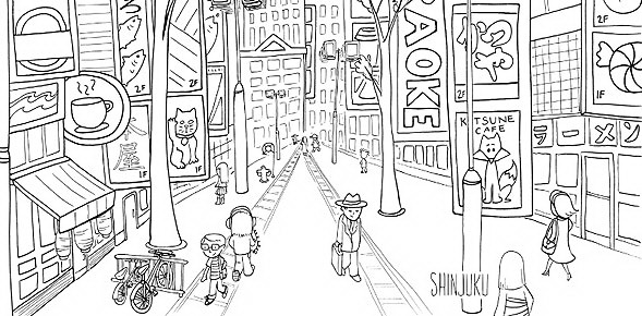 Coloring For All Ages And The Chance To Explore Hidden Gems Are Hallmarks Of Colorful Cities Books